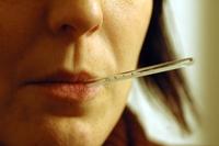 influenza febbre termometro