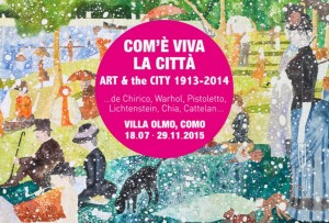 La locandina della mostra 2015 di Villa Olmo