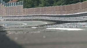 Tangenziale di Como, l'asfalto sembra sciogliersi: è un effetto visivo che si avverte in giornate di caldo eccezionale