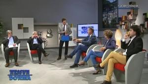 Da sinistra: Francesco Dotti, Dario Bianchi, Luca Gaffuri, Maria Rita Livio e Alberto Gaffuri