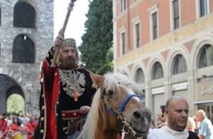Il Barbarossa entra in città