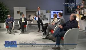 Da sinistra a destra: Giulio Gridavilla, Alberto Vannelli, Daniela Limonta, Fortunato Trezzi, Fabrizio Bonacina