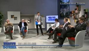 Da sinistra: Giovanni Pedrinelli, Amleto Luraghi, Giovanna Tettamanti, Paolo Balduzzi, Luca Pellegatta