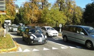 traffico via cernobbio