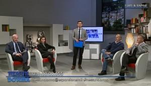 Da sinistra a destra: Paolo Camporini, Rossella Radice, Adriano Parisi, Luca Faraon