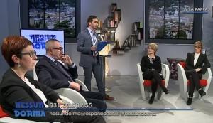 Da sinistra: Silvia Magni, Michele Giacci, Anna Veronelli, Marianna Sasso