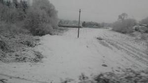 Neve nell'Olgiatese