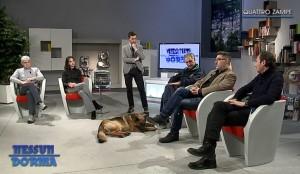 Da sinistra: Giulio Gridavilla, Marcella Bellani, Michele Pensato, Marco Pizzagalli e Marco Marelli