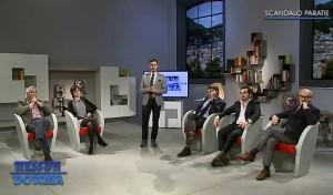 Da sinistra: Gianni Imperiali, Andrée Cesareo, Sergio Gaddi, Luca Ceruti ed Enrico Bianchi