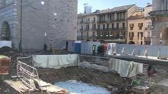 Piazza Grimoldi: una giornata per visitare i reperti, a breve il nuovo progetto