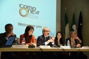 Roberto Maroni stamattina al Tavolo per la Competitività