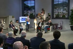 Da sinistra a destra: Mario Lavatelli, Stefano Vicari, Lorenzo Peroni, Franco Bettoni