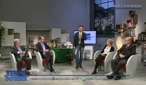 Da sinistra a destra: Luciano Vanini, Fortunato Trezzi, Chiara Gerletti e Paolo Vismara