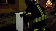 L'asciugatrice va in corto, principio d'incendio in un centro estetico