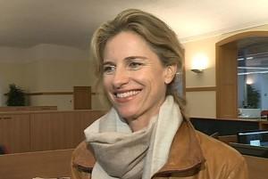 Holly Morris nella sede di Etv