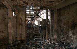 Viaggio all'interno del Santarella, ancora accessibile dopo l'incendio