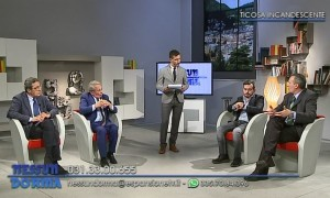 Da sinistra: Alberto Artioli, Marcello Iantorno, Luca Ceruti, Claudio Casartelli