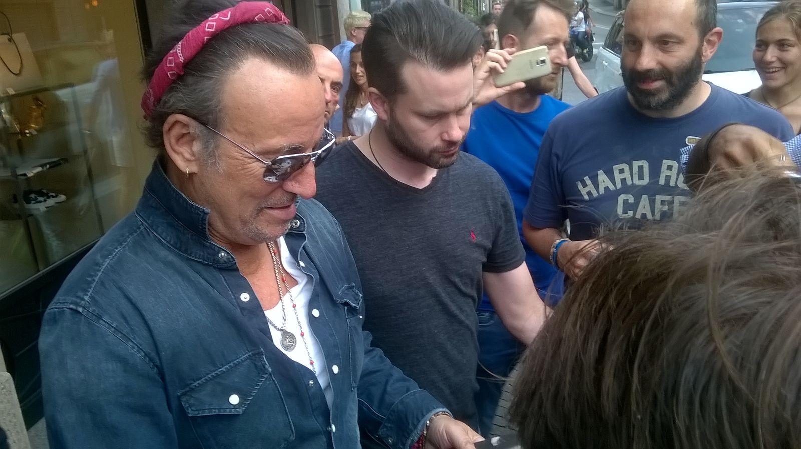 Bruce Springsteen, la notte di magia a San Siro