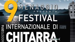 Festival della Chitarra a Menaggio da venerdì 26 agosto