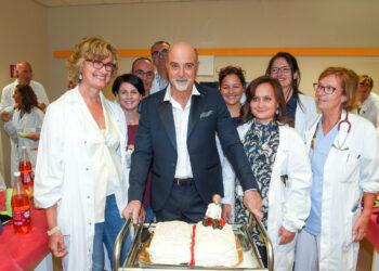 Como Ospedale Sant'Anna il dottor Marco Arnaboldi primario di neurologia va in pensione