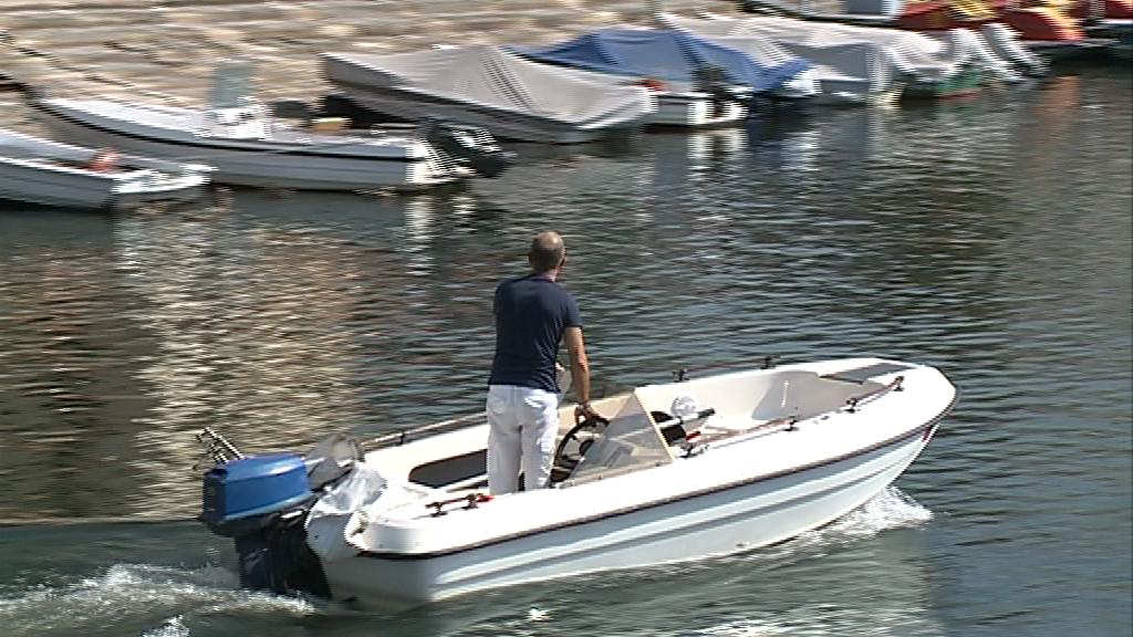 barche lago como