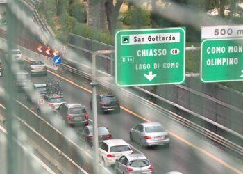 autostrad a9 milano como chiasso