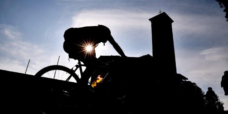 Foto LaPresse - Marco Alpozzi 12 Ottobre 2019, Bergamo, Italia Sport Ciclismo GF Il Lombardia 2019 - Da Cantu' a Cantu' - Nella foto:Photo LaPresse - Marco Alpozzi October 12, 2019 Bergamo, Italy sport cycling GF Il Lombardia 2019 - From Cantu' to Cantu' - In the pic: