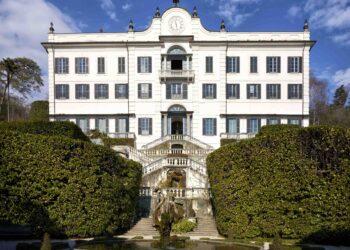 Gli esterni di Villa Carlotta