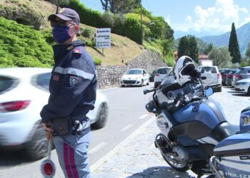 Polizia stradale Tremezzina