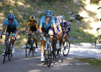 Foto POOL/BETTINI/LaPresse - 15 Agosto 2020 Bergamo (Italia) Sport Ciclismo 114° Il Lombardia - Da Bergamo a Como - 231 km nella foto:durante la gara.
