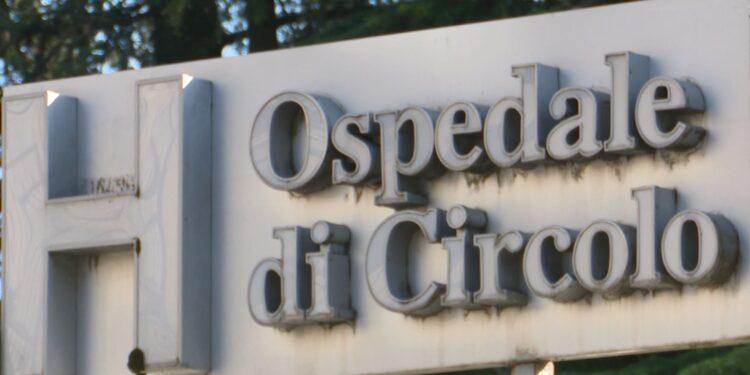 Insegna dell'ospedale di Circolo di Varese