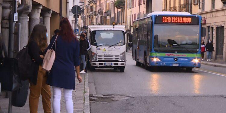bus a Como