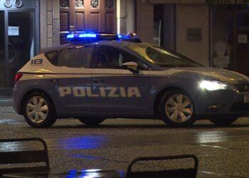 controlli della polizia di sera