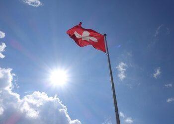Bandiera della Svizzera