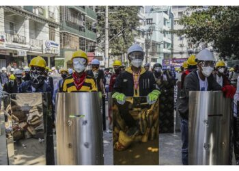 Manifestazioni a Rangoon e a Loikaw