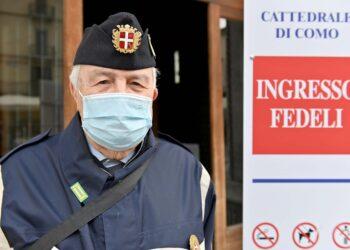 Covid, misure anti contagio a Como