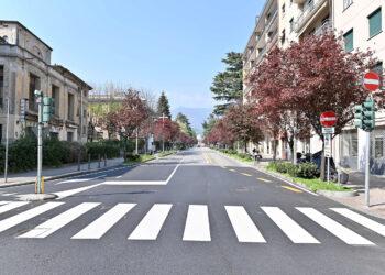 strade di Como deserte