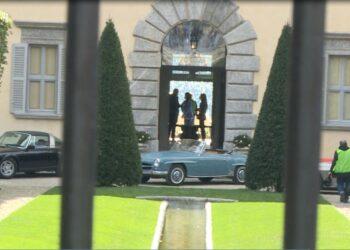 Villa Balbiano blindata per il film House of Gucci