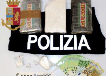 Donna con tre chili di cocaina arrestata a Como