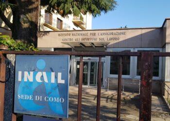 Esterni della sede Inail di Como