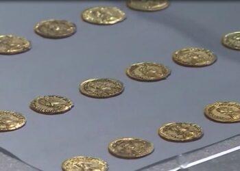 Delle monete d'oro