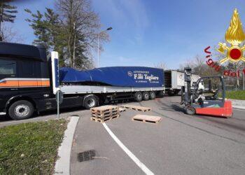 L'incidente a Cassina Rizzardi