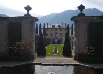 Esterni di Villa Balbiano a Tremezzina Ossuccio