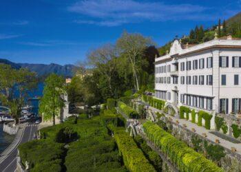 Esterni di Villa Carlotta a Tremezzina