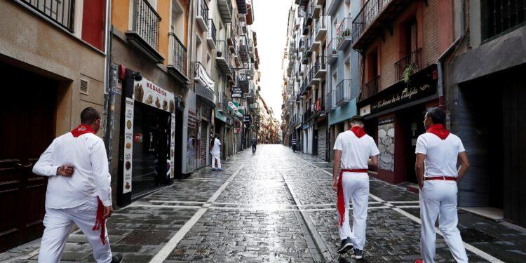 Sindaco di Pamplona: 'Ancora troppo rischioso'