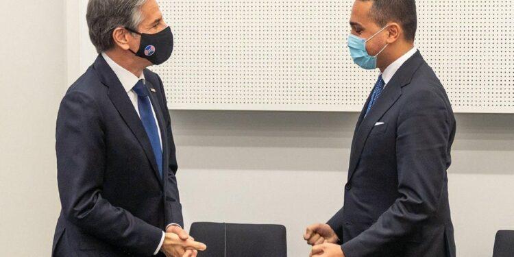 Il ministro vede l'omologo Blinken ma anche Anthony Fauci