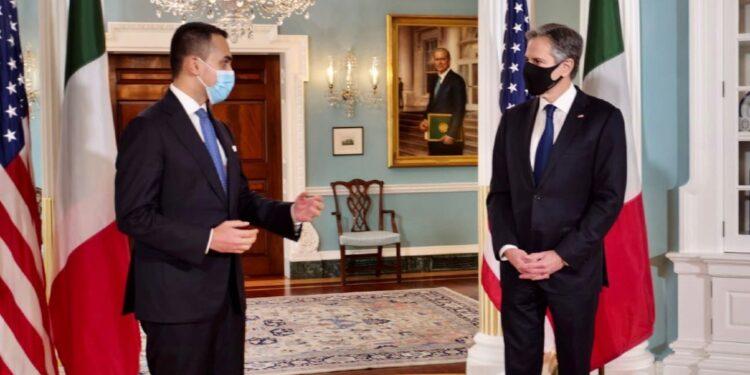 Il ministro dopo l'incontro con il segretario di stato Usa