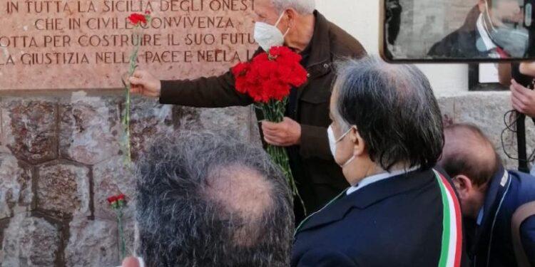 Cerimonia di commemorazione per 39/o anniversario uccisione