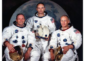 Con Amstrong e Aldrin conquistò la Luna nel 1969