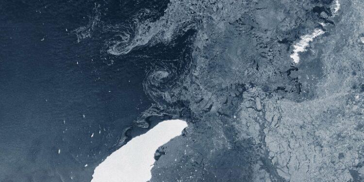 Si era staccato da Antartide nel 2017